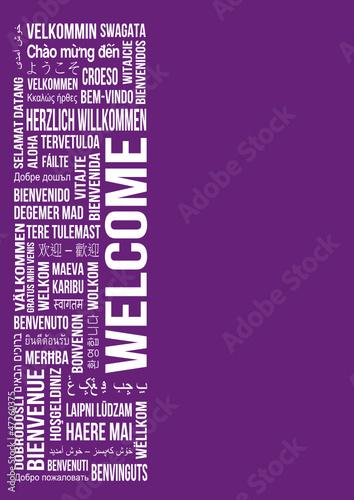Welcome - Begrüßung Abbildung - Sprachen
