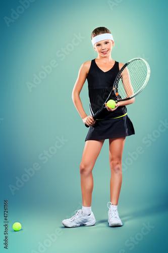 tennis kid