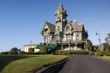 Carson Mansion at Eureka California USA
