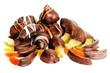 Mix di Frutta candita al cioccolato fondente