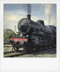 Locomotiva in Polaroid