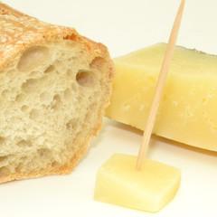 Queso y pan