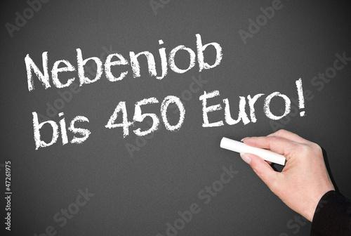 Nebenjob bis 450 Euro !