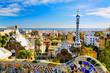 Leinwandbild Motiv Park Guell in Barcelona, Spain