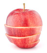 Apple red sliced