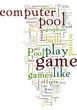 Challenging Pool Computer Games
