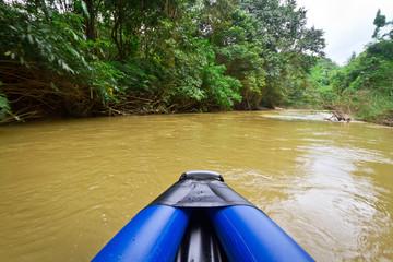 Canoe trip in Khao Sok National Park, Thailand