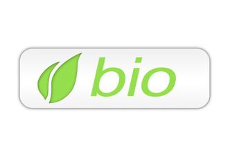 Bio eco logo biologico verde