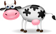Cow cartoon