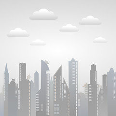 City and Cloud