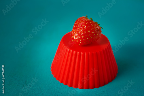 Red strawberry queen