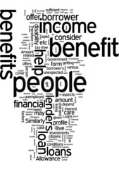 Double your benefit through loan for people on benefit