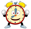 illustration of Cartoon alarm clock