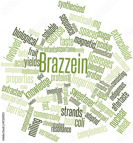 Word cloud for Brazzein