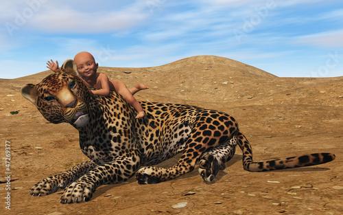 B b et jaguar photo libre de droits sur la banque d 39 images image 47269377 - Bebe du jaguar ...