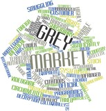 Word cloud for Grey market