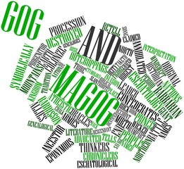 Word cloud for Gog and Magog