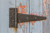 Close up of Antique Barn Hinge