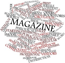 Word cloud for Magazine