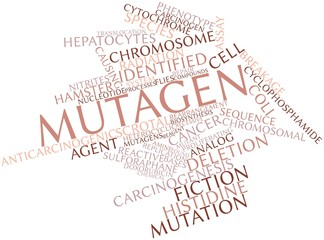 Word cloud for Mutagen