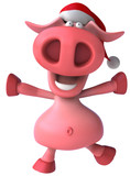 Fototapety Fun pig