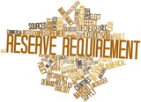 Word cloud for Reserve requirement poster