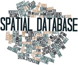 Word cloud for Spatial database
