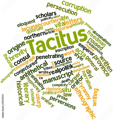 Word cloud for Tacitus