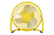A cute small electric fan.