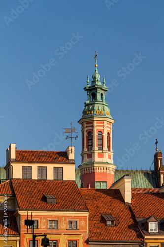 Castle Square in Warsaw, Poland © Andrey Starostin