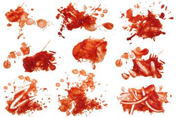 Ketchup Flecken 8