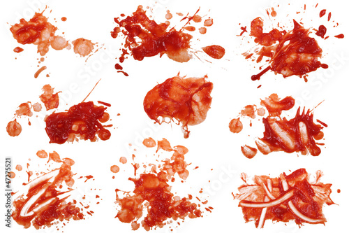 Keuken foto achterwand Kruiderij Ketchup Flecken 8