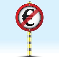 STOP EURO ICON