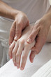 reflexology ayurveda shiatsu applied to handcare