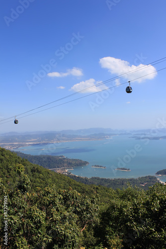Cable car from Gunung Mat Chencang, Langkawi