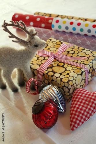 Geschenk und Deko