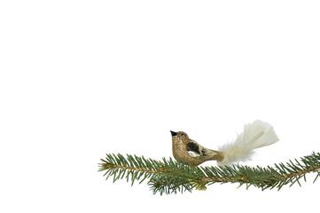 Weihnachten - Vogel Christbaumschmuck