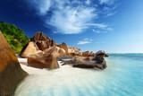 Fototapeta niebieski - spokojny - Plaża