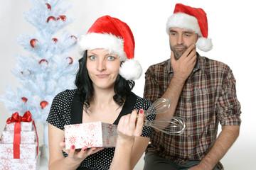 Enttäuschung übers Weihnachtsgeschenk