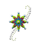 Embellishment Flower Star poster