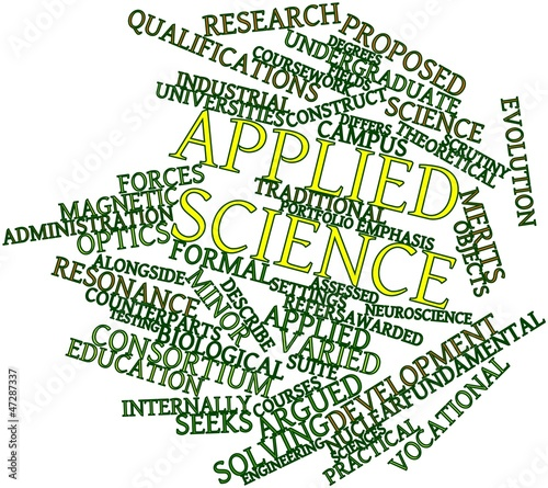 Word cloud for Applied science