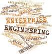 Word cloud for Enterprise engineering