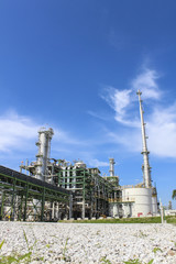 Petro and chemical plant