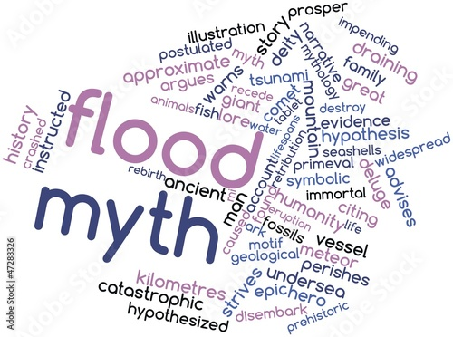 Word cloud for Flood myth