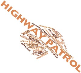 Word cloud for Highway patrol