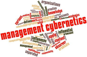 Word cloud for Management cybernetics