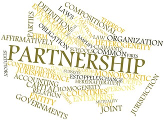 Word cloud for Partnership
