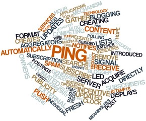 Word cloud for Ping