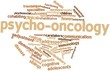 Постер, плакат: Word cloud for Psycho oncology