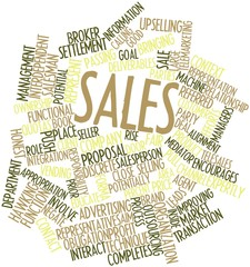 Word cloud for Sales